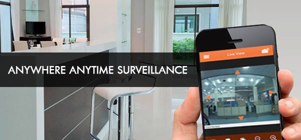 Anywhere anytime surveillance