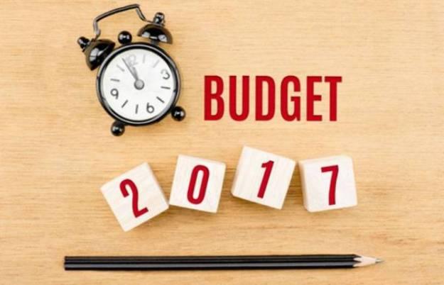The Union Budget 2017
